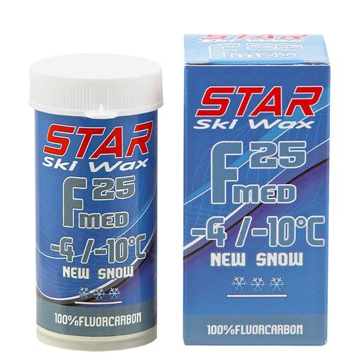 F25 FLUORO POWDER Ski Wax 100 Fluorocarbon