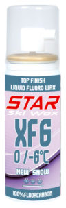 XF6 100% Fluorcarbon Spray Ski Wax