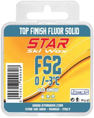 FS2 100% Fluorcarbon Block Ski Wax