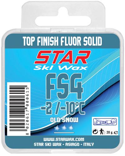 FS4 100% Fluorcarbon Block Ski Wax