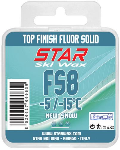 FS8 100% Fluorcarbon Block Ski Wax