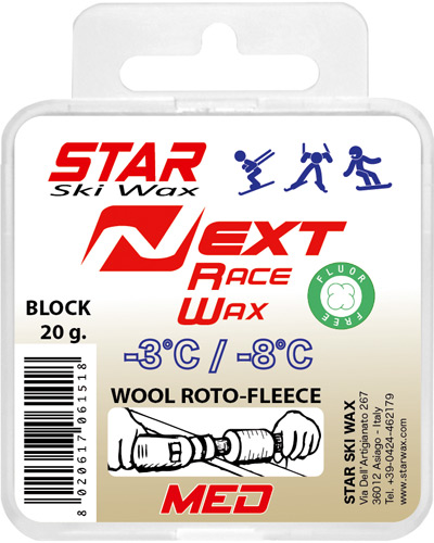Next Fleece-Application Race Med