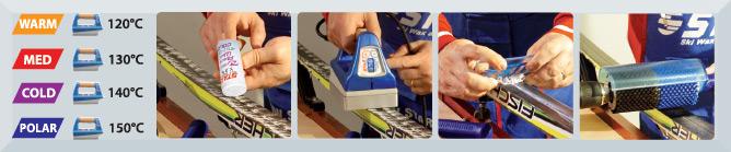Next Powder Race Wax application